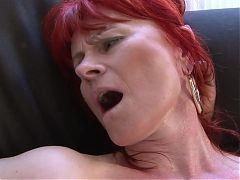 Interracial Mature Redhead 298