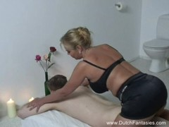 Chubby dutch massage and rough fuck