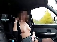 My dear wants to expose her milf body in public places