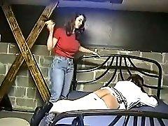 Cruel spanking