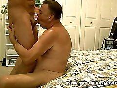 Muscular Mature Man Fuck A Young Piece Of Ass