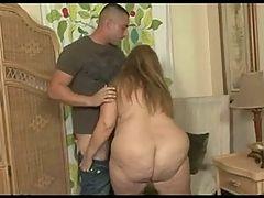 Big Tit BBW Haley Lets It All Hang Out Blowjob