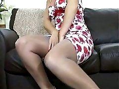 Nylon Stocking Milf