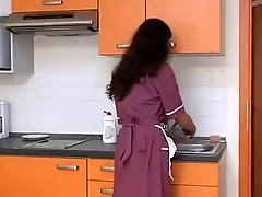 Hairy Maid Fucked By Top Chef BVR