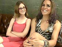 TS Milf Teaches Teen Girl BVR