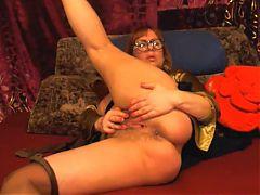 Horny 54 year old milf masturbating on webcam no sound