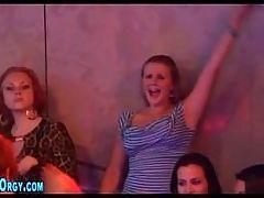 CFNM party teens sucking cock