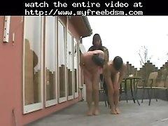 Cock and ball torture bdsm bondage slave femdom dominat