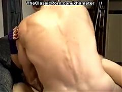 Nina Hartley Mike Horner in sassy blonde is fucked in a