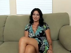 Hot Brunette Cougar Zoey Holloway Bangs Hard