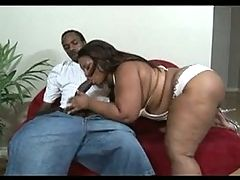 Fat black chick gets fucked