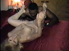 Cuckold's wife dressed and fucked like a slut