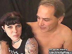 Tattoo Bondage Pain Slut Visits SICK Doctor