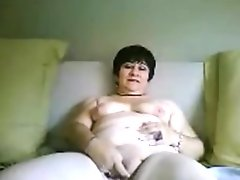 Sexy Black Booty for Big White Cock