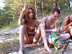 Russian Nudists Happy people don't ware pants