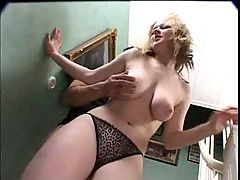 Swedish Maria fucked on stairs