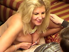 Mature Woman Tit Fucking Twice