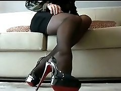 Cum On My Nylon Stockings JOI IT4
