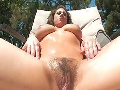 Hairy Busty Devin Rae's 2Dick Minimum