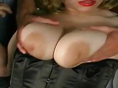 Big boobs slut double penetration