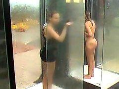 Milfs Caught In Public Shower BVR