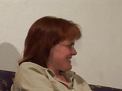 Hairy redhead milf