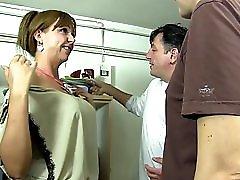 ReifeSwinger German mature gets fucked hard in threesome