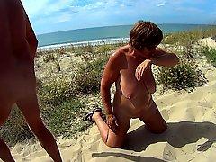 Beach Blowjob