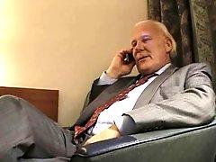 Hotel Room Grandpa Amateur Session