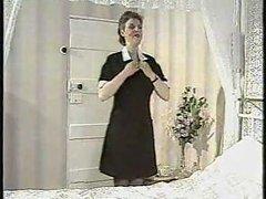 Debbie Quarrel stripping