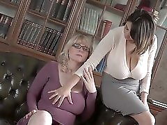2 Busty Lesbians Play Bit Breasts Visit my PROFILE for more videos