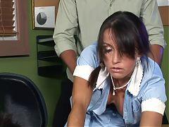 MATURE MAID TRIES TO KEEP HER JOB! F70