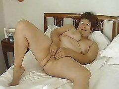 My wife masturbates