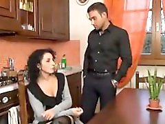 Mature seduce young guy