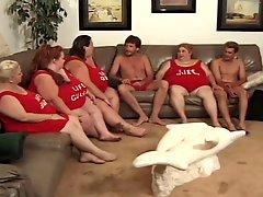 Lesbian BBW orgy