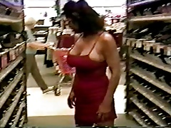 Mature with great body flashing and fucking