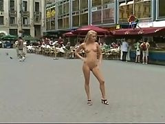Cute Blonde Nude In Public Classic! by triplextroll