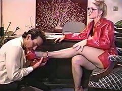 Summer Cummings in my fav femdom video Pay up Scum!