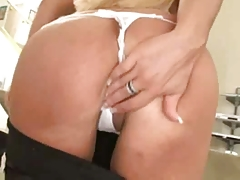 Hot Mature Blonde Anal