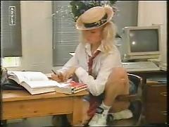Hot Schoolgirl Stripper