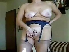 Granny masturbation bliss