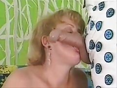 Country lady shares her Thursday night with Mister Dick