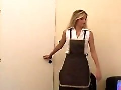 Hotel maid gets hard assfuck