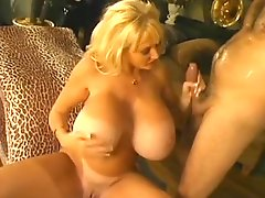 Classic Hugetitted Cougar Banging