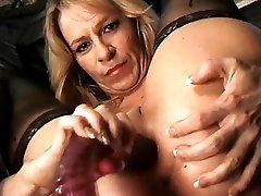 Adora uses her dildo