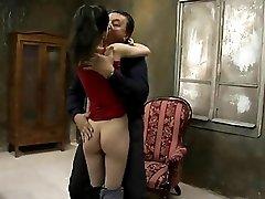 Old man fuck skinny tight girl