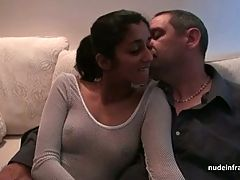 Young french indian analized and jizzed for her sextape