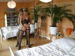 Lovely amatuer Milf in lingerie