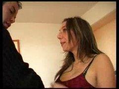 Busty french pornostar