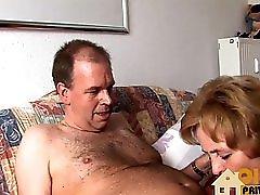 Omi hat grosse Titten
